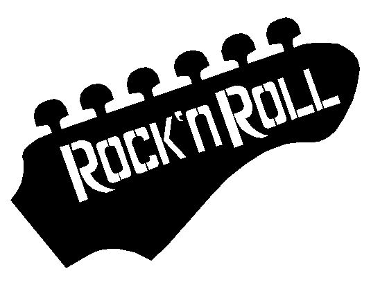 kilian palacio  Rock n Roll is my Life Skull
